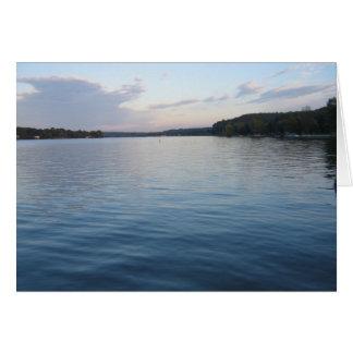 Tranquil Lake Card