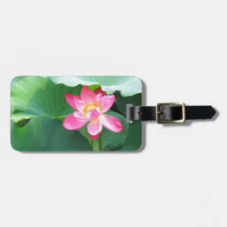 Tranquil Lotus Bag Tag