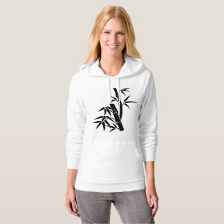 Tranquil Moments (TM) Bamboo Hoodie Black&White