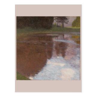 Tranquil Pond Gustav Klimt Postcard