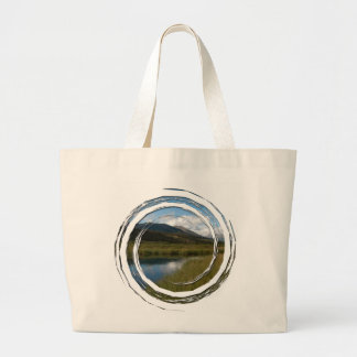 Tranquil River Large Tote Bag