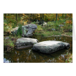 Tranquil Stream - Greeting Card #1