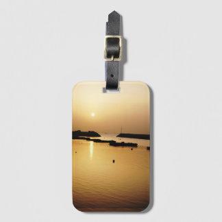 Tranquil Sunrise Luggage Tag