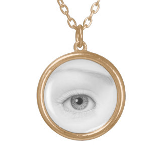 tranquil vision gold plated necklace