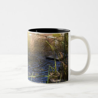Tranquil Water Pond Photo Mug