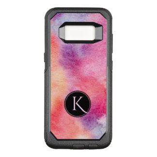 Tranquil Watercolors Background OtterBox Commuter Samsung Galaxy S8 Case
