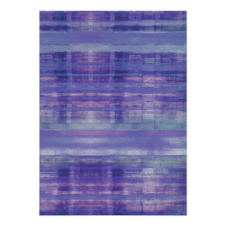 Tranquil Waters Abstract Art Poster