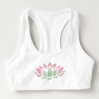 Tranquil Yoga Lotus Flower Women's Alo Sports Bra