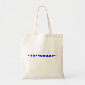 **Tranquility**  Bag