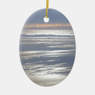 TRANQUILITY CERAMIC OVAL ORNAMENT
