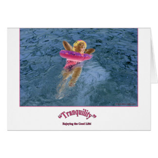 """""""Tranquility"""" Greeting Cards"""