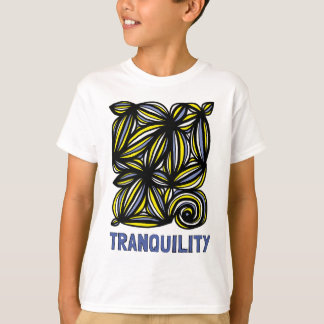"""Tranquility"" Kids' Hanes TAGLESS® T-Shirt"