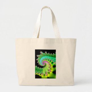 tranquility large tote bag