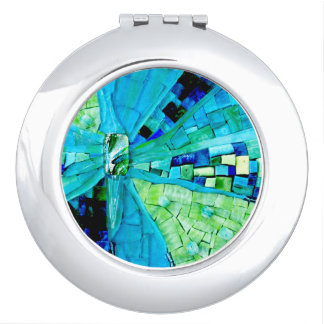Tranquility Mosaic Compact Mirrors