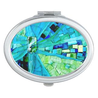 Tranquility Mosaic Travel Mirror