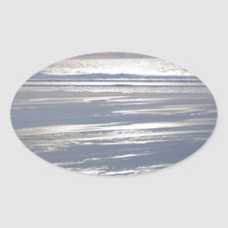 TRANQUILITY OVAL STICKER