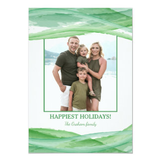 Tranquility Photo Holiday Card