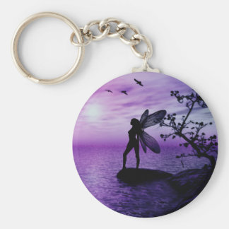 Tranquility (Purple) Keychain