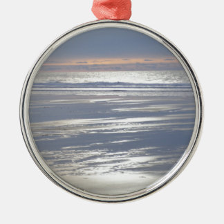 TRANQUILITY Silver-Colored ROUND ORNAMENT