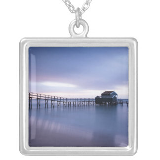 Tranquility Silver Plated Necklace