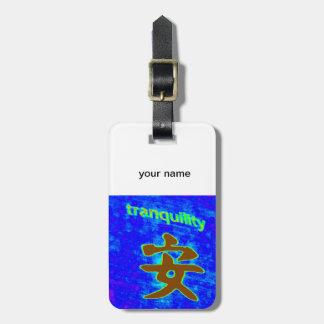tranquility symbol tag