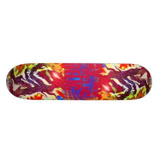 Tranquillity Peace Wolf Skateboard