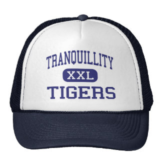 Tranquillity - Tigers - High - Tranquillity Trucker Hat