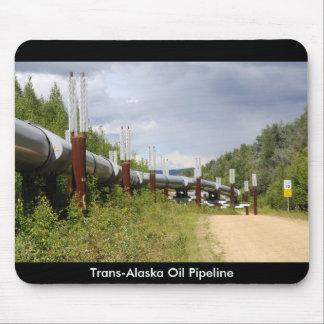 Trans-Alaska Oil Pipeline Mouse Pad