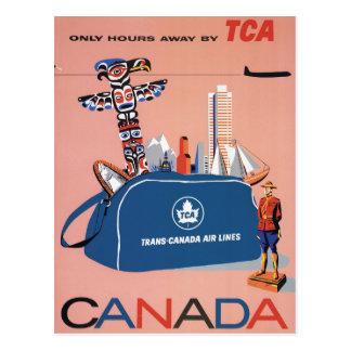 Trans-Canada Air Lines Postcard