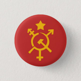 Trans communism Button