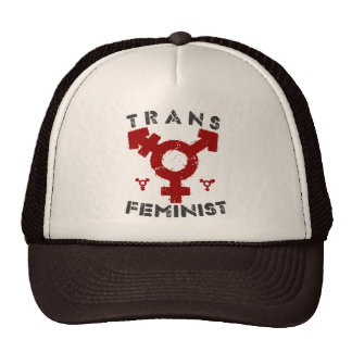 TRANS FEMINIST - For Liberation Of All Women, Red Trucker Hat