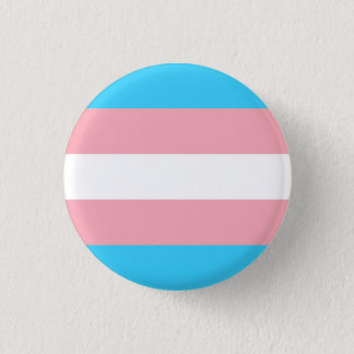 trans flag 1 inch round button