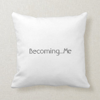 Trans forming..Becoming..You Throw Pillow