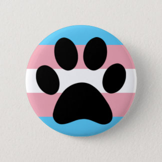 Trans furry pride 2 inch round button