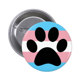 Trans furry pride 2 inch round button