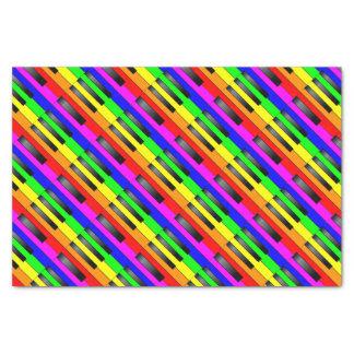 Trans Gay Piano Keys Tissue Paper