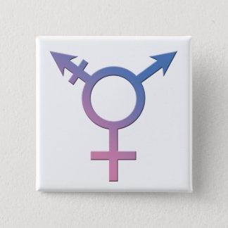 Trans / Genderqueer Pride Button