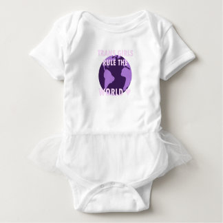 Trans Girls Rule The World (v1) Baby Bodysuit