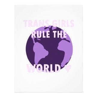 Trans Girls Rule The World (v1) Letterhead
