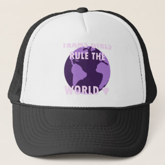 Trans Girls Rule The World (v1) Trucker Hat