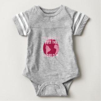 Trans Girls Rule The World (v2) Baby Bodysuit