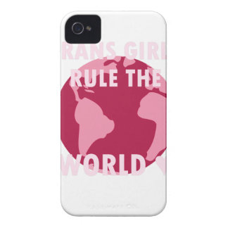 Trans Girls Rule The World (v2) Case-Mate iPhone 4 Cases