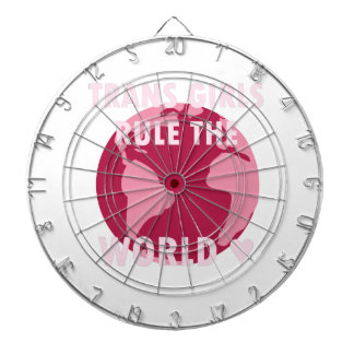 Trans Girls Rule The World (v2) Dartboard