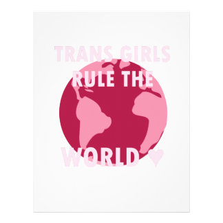 Trans Girls Rule The World (v2) Letterhead