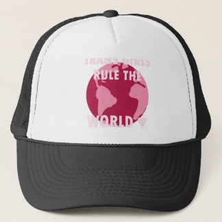 Trans Girls Rule The World (v2) Trucker Hat