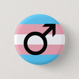 Trans Guy Pride 1 Inch Round Button