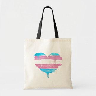 TRANS HEART - TRANS LOVE - TOTE BAG