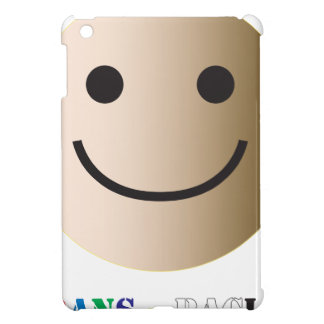 trans iPad mini case