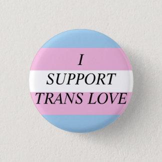 Trans Love 1 Inch Round Button
