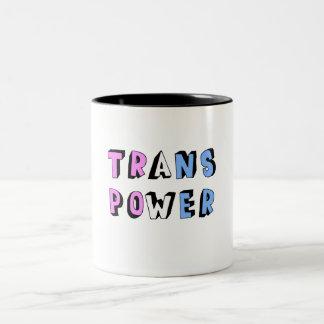 Trans Power Two-Tone Coffee Mug